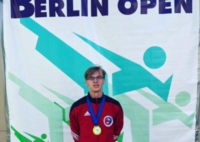 Taekwondo Ass Jannik Arping holt Gold bei Berlin Open